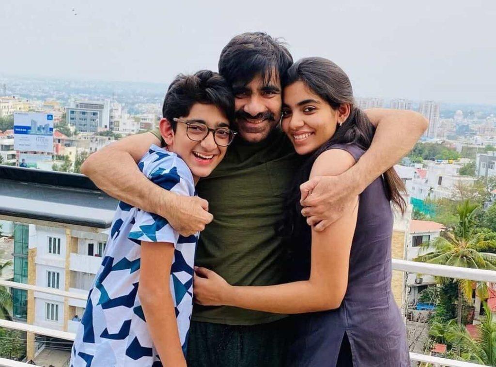 Ravi Teja kids