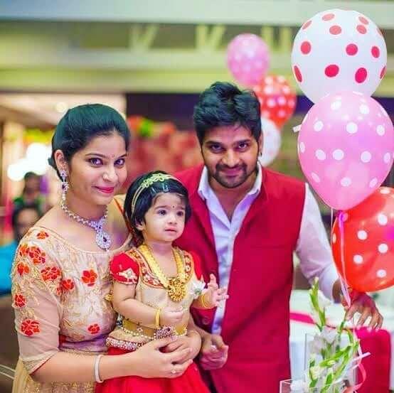 Sree Vishnu with his Wife Prashanthi