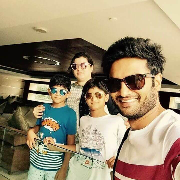 Sudheer Babu childrens