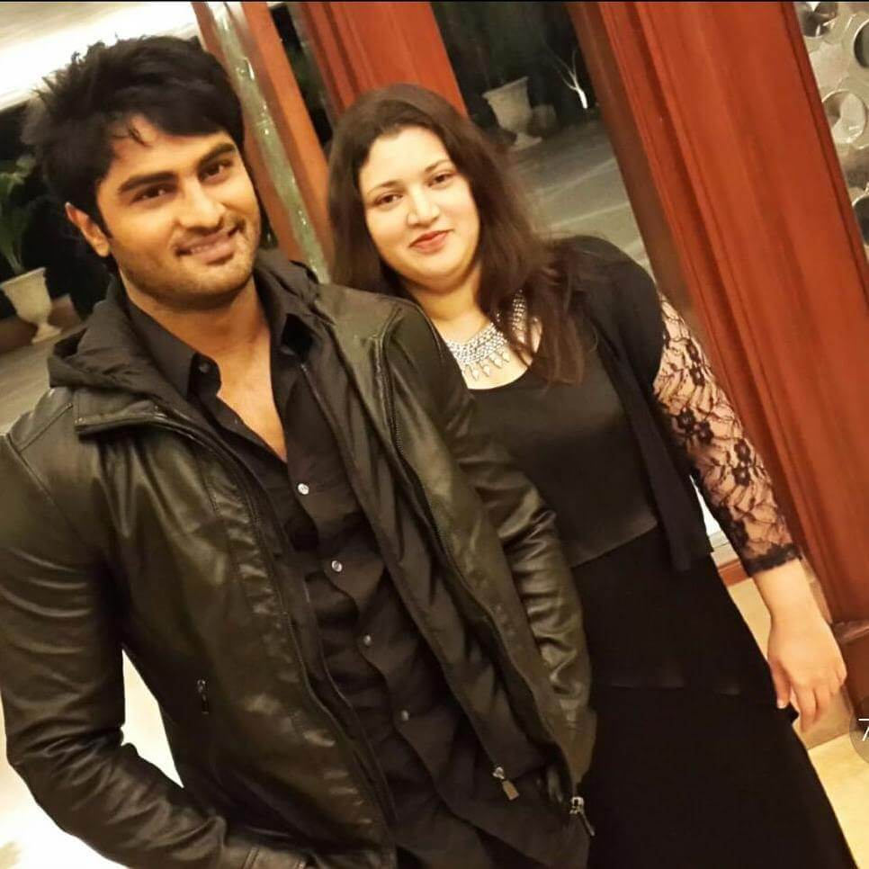 Sudheer Babu with his Wife Priyadarsini