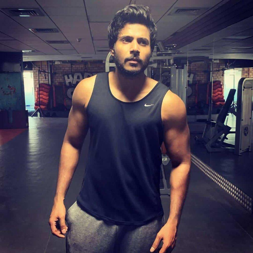 Sundeep Kishan in Gym