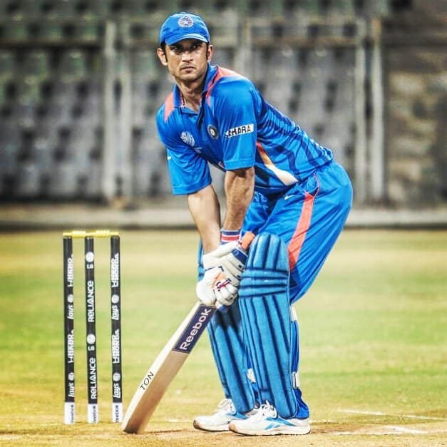 Sushant Singh Rajput In Film M S Dhoni The Untold Story
