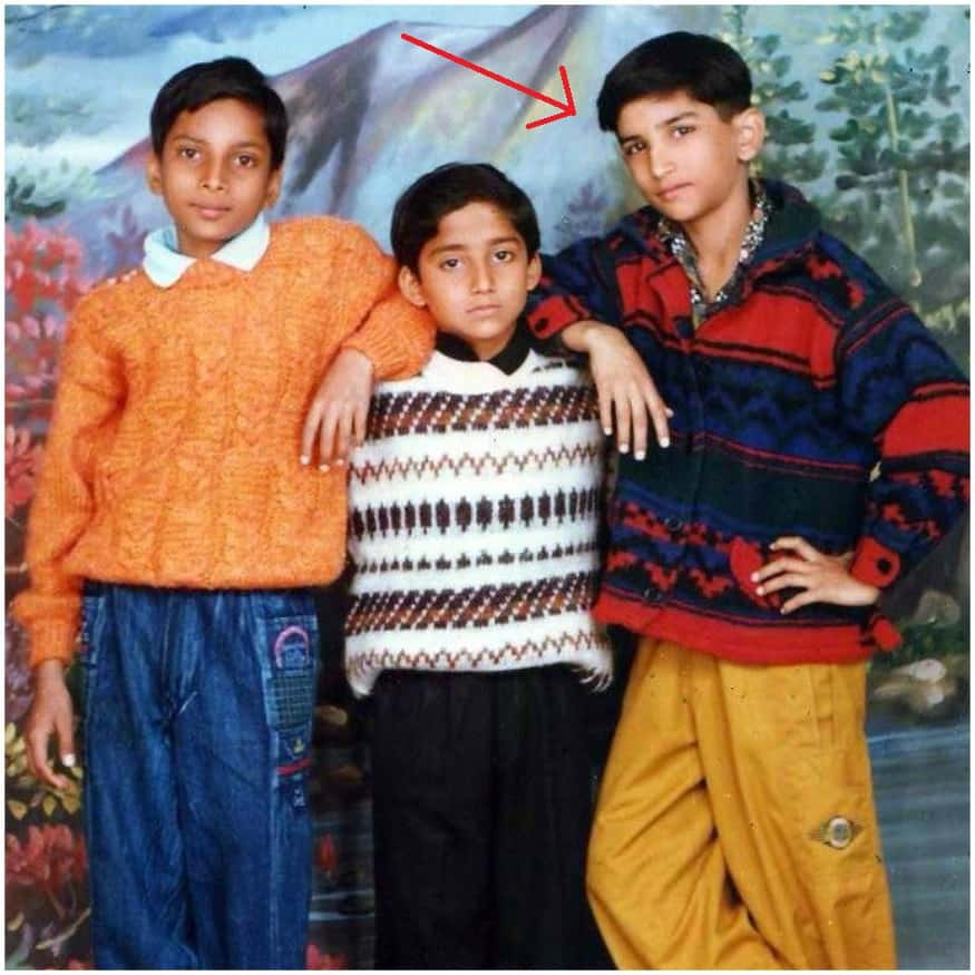 Sushant Singh Rajput in Childhood