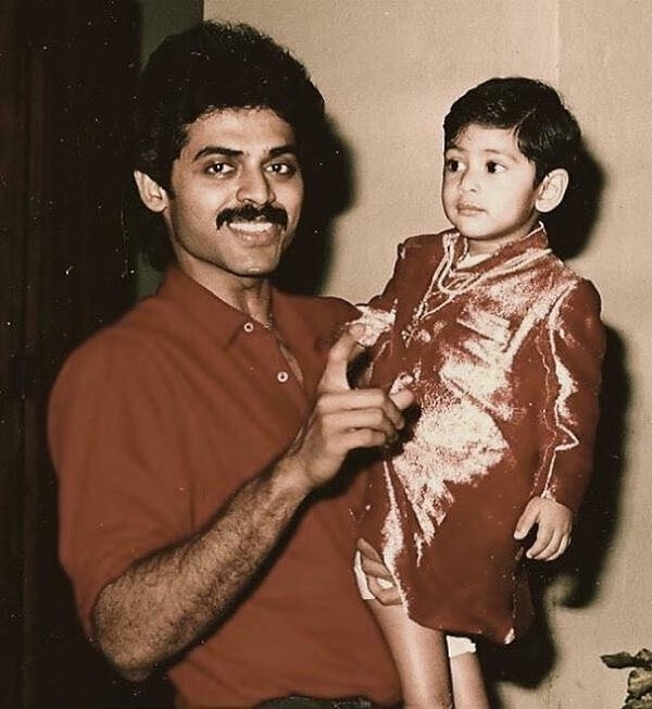 Venkatesh in Early days of Career