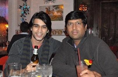 Abijeet Duddala in a Restaurant