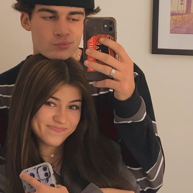 Ava Rose with her Boyfriend Cole Howard