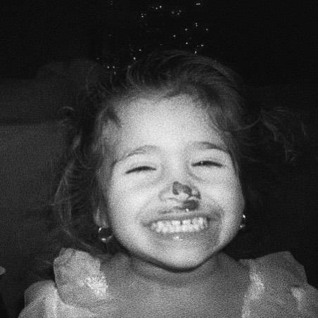 Nessa Barrett Childhood Photo