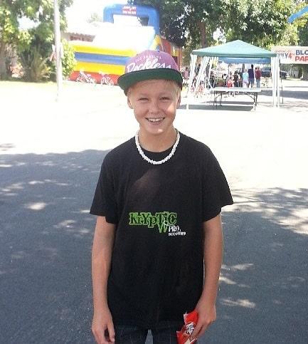 Nick Austin Childhood Photo